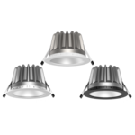 Milano downlight trim options - Commercial LED downlight